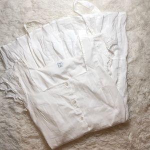 beautiful white summer dress